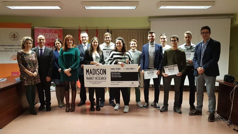 Entrega de los premios MADISON