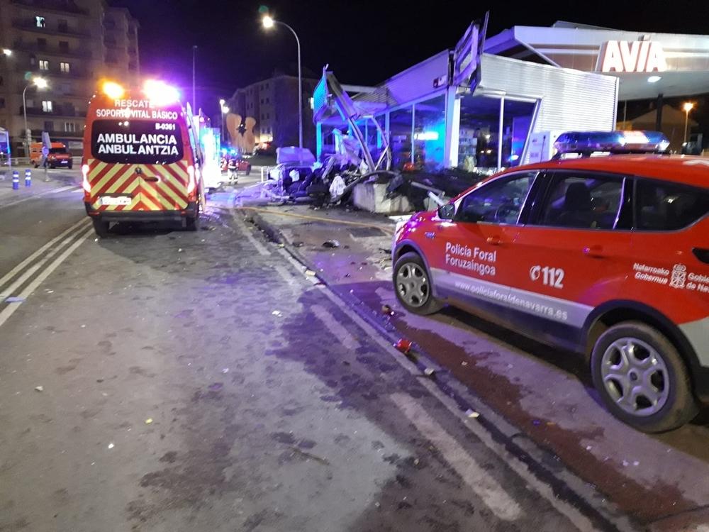 Una niña muerta y 4 heridos tras ser arrollados en Estella