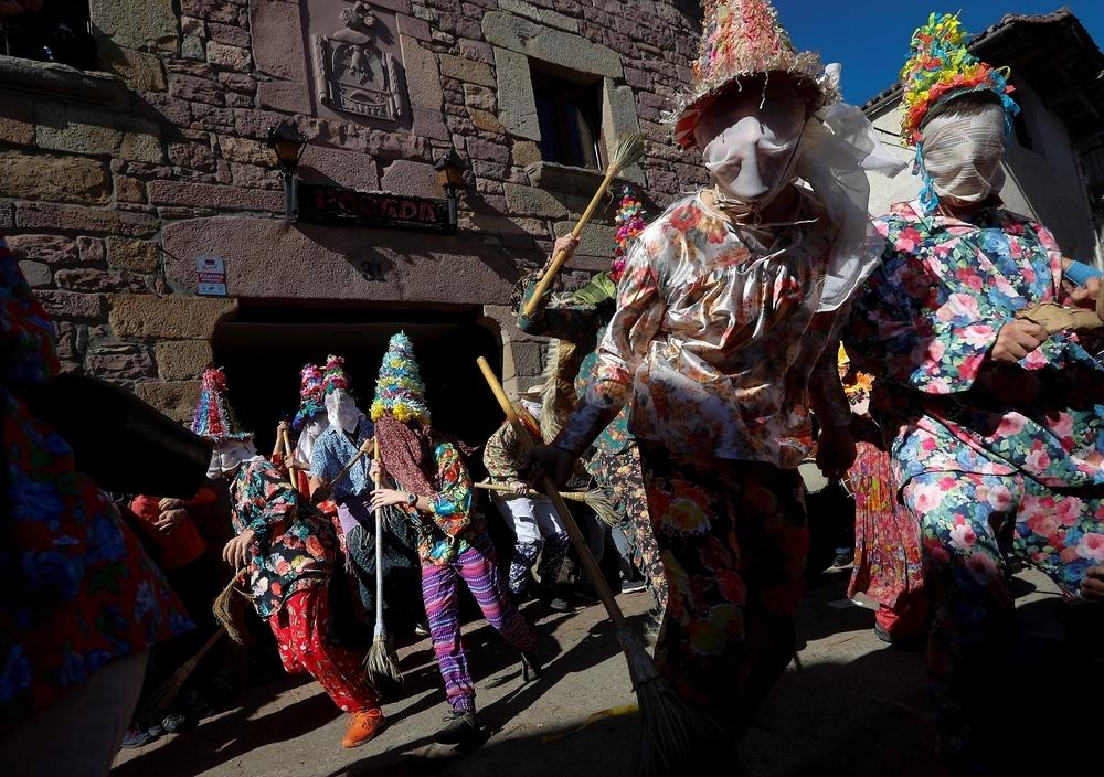 La cara más divertida de los carnavales, en imágenes