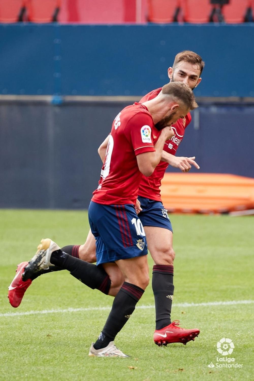 Torres adelantó a Osasuna en el minuto 38