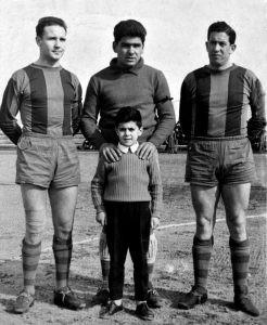 Antón, Callejo y Costa, en El Peñascal en 1959.