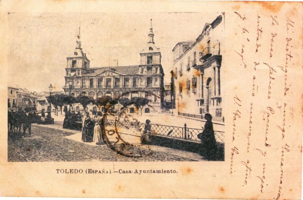 Las postales más antiguas de Toledo