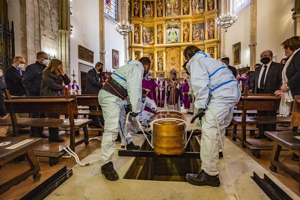 Funeral del Obispo emérito Antonio Algora en la Catedral de Ciudad Real