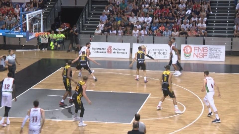 El Navarra Arena acogió un partido de pretemporada de ACB entre Gran Canaria y Baskonia el pasado mes de septiembre