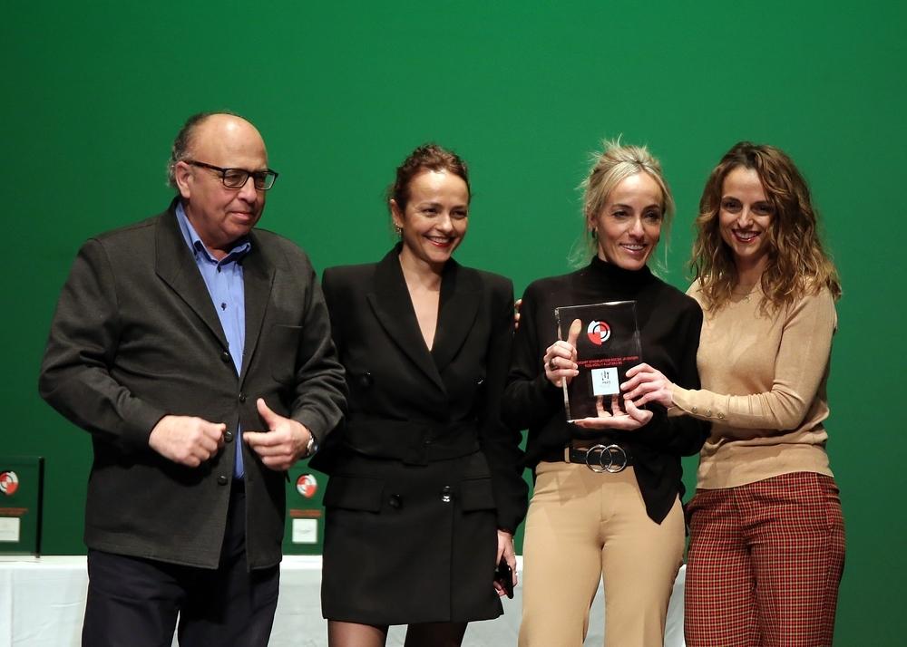 La Academia Castellana y Leonesa de Gastronomía y Alimentación durante la entrega de la sexta edición de sus premios.
