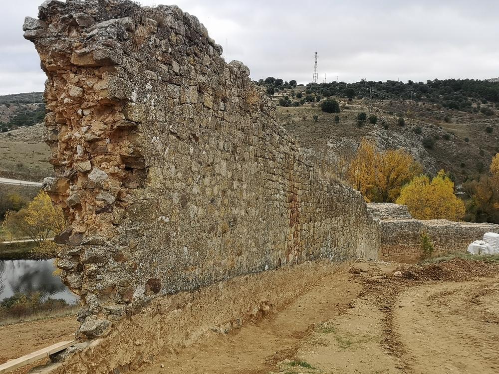 La muralla de Soria coge altura