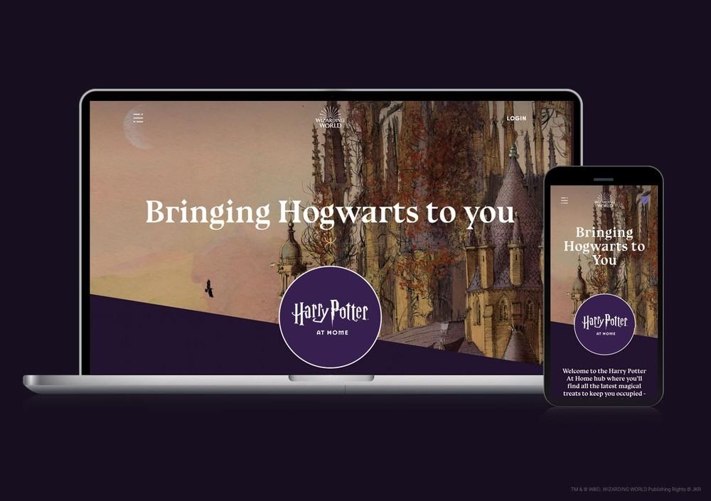 Harry Potter entra en tu casa durante la cuarentena