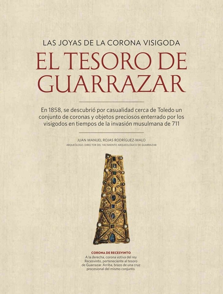 El oro de Guadarrazar deslumbra a Historia National Geograph