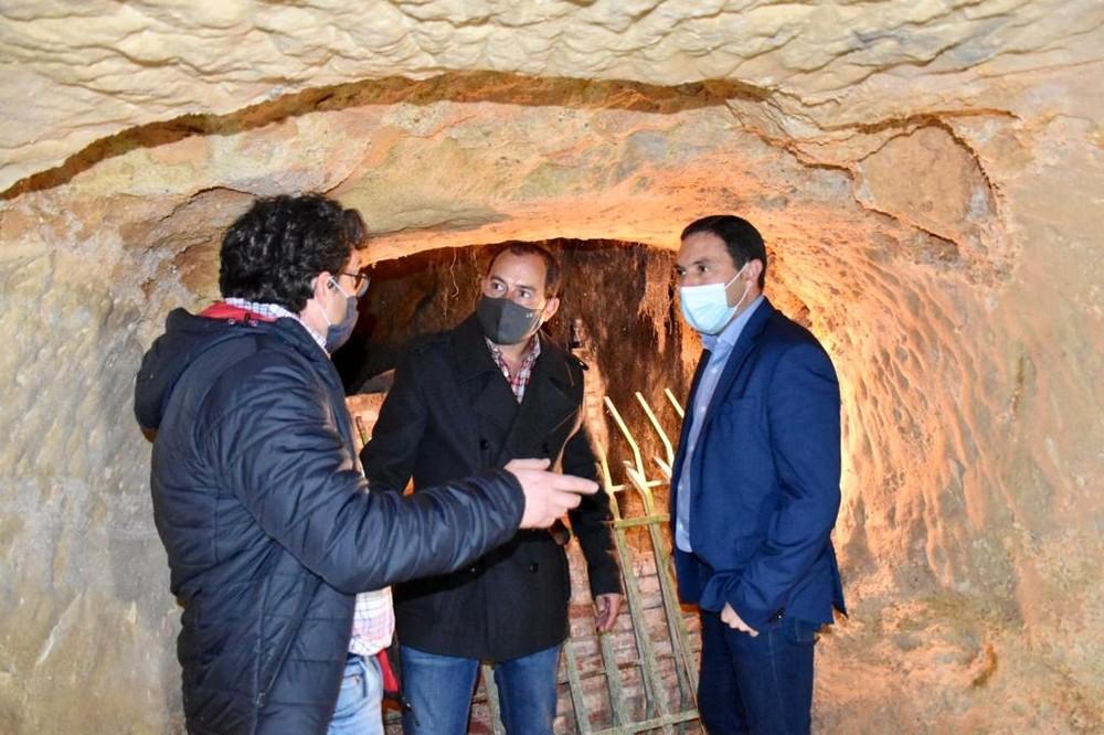 Diputación apoya la rehabilitación de la Cueva del Estrecho