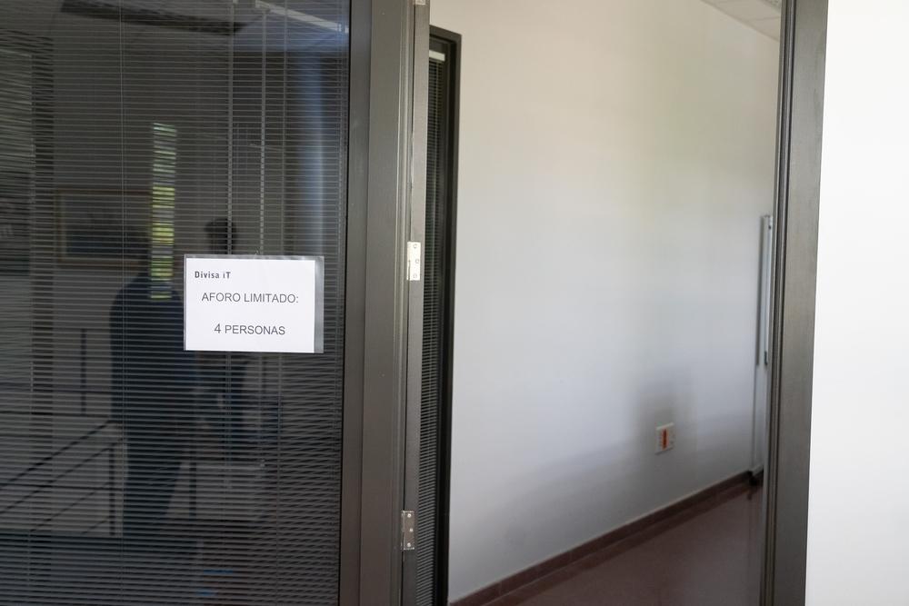 Las salas tienen limitado el acceso.