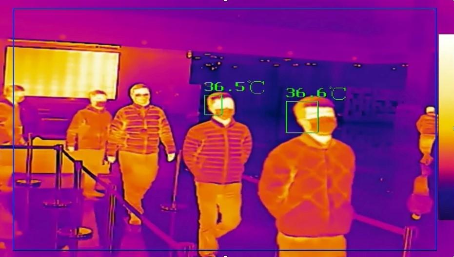 Las cámaras térmicas también han llegado a las oficinas.