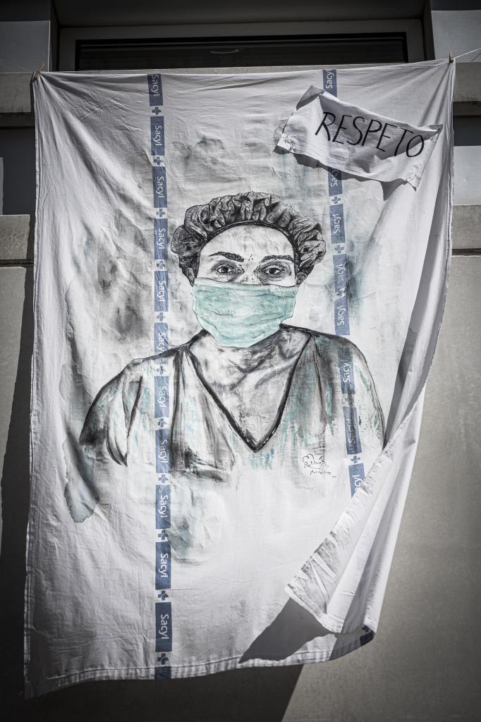 'Los ojos que te miran', en el epicentro sanitario