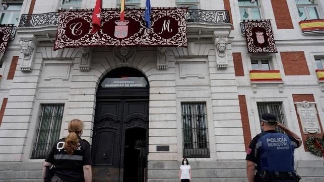 Madrid dedica a CLM el minuto de silencia por las víctimas