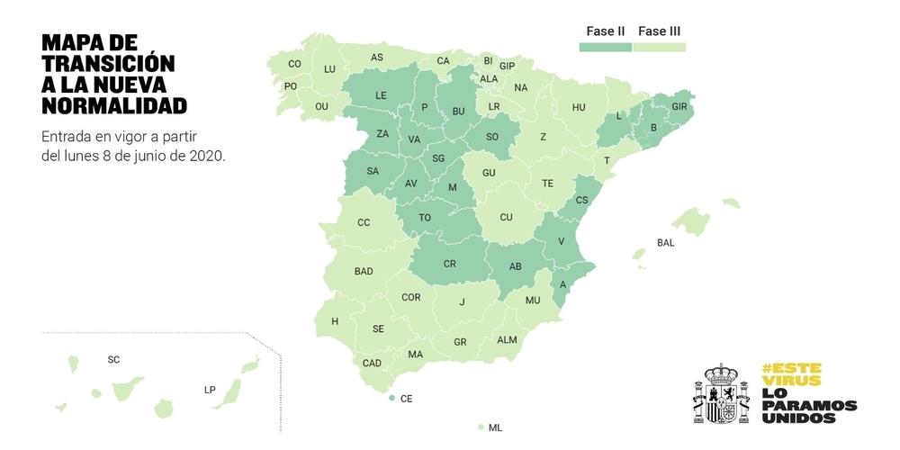 Navarra pasará el lunes a la fase 3 de la desescalada