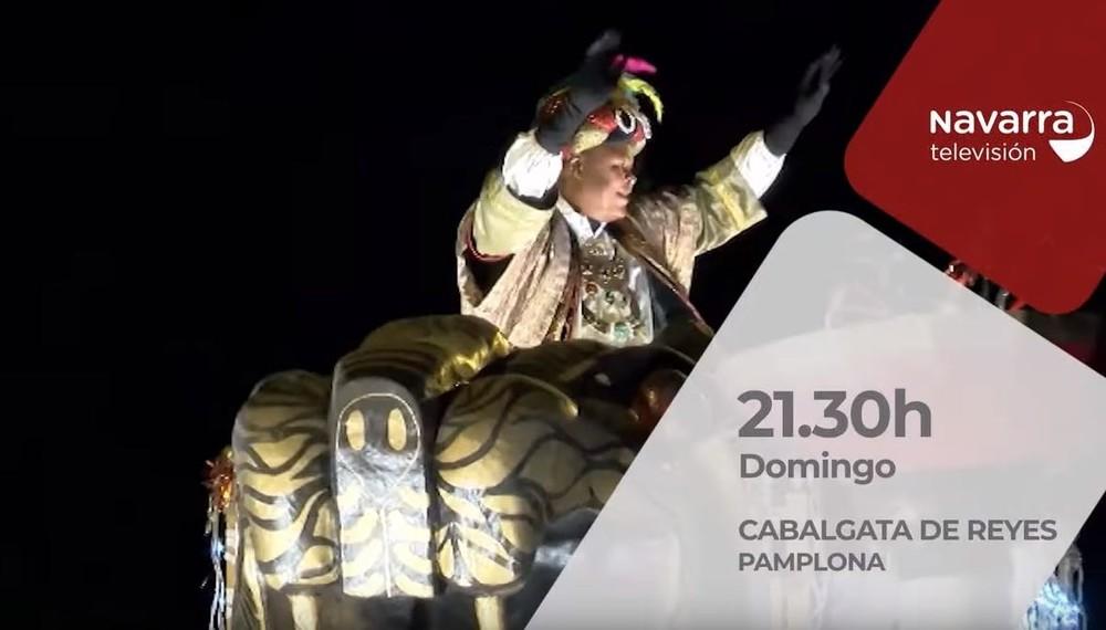 Sigue la magia de la Cabalgata de Pamplona en Navarra TV