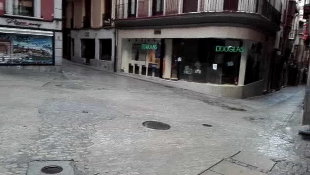 Las melancólicas calles del Toledo del coronavirus
