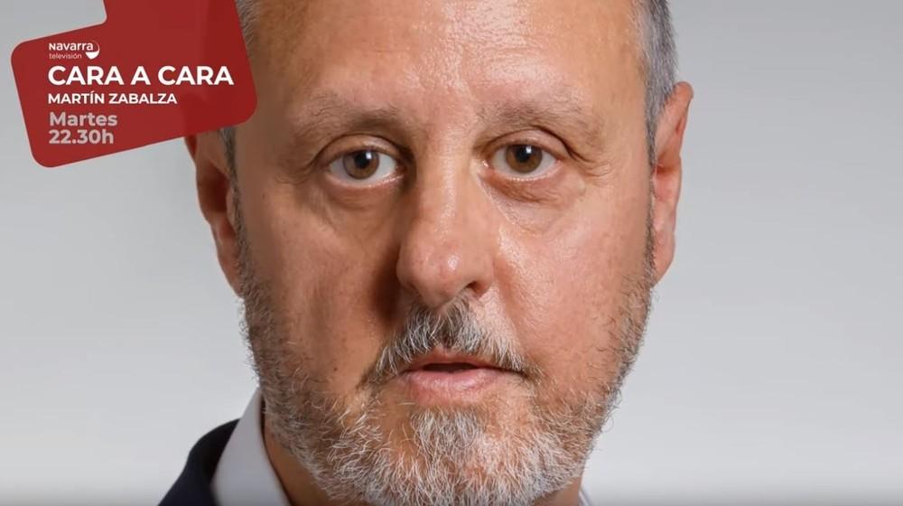 Zabalza, director de Paz y Convivencia, en 'Cara a Cara'