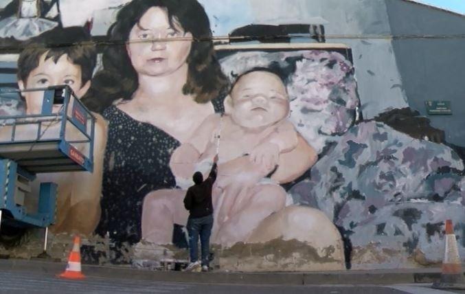 El arte sale a las fachadas de Tudela el próximo 8 de junio