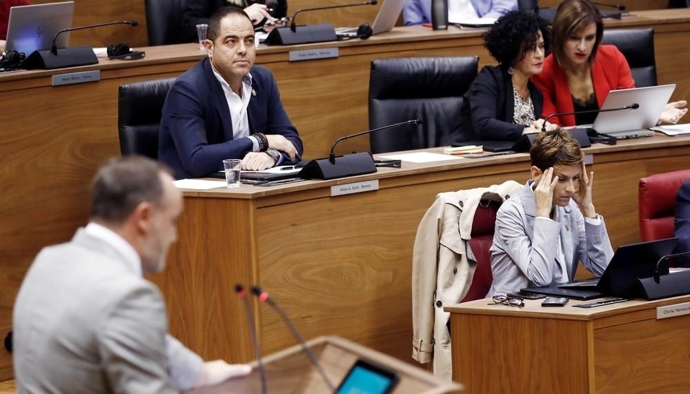 Na+ pide que Chivite aclare la competencia de tráfico