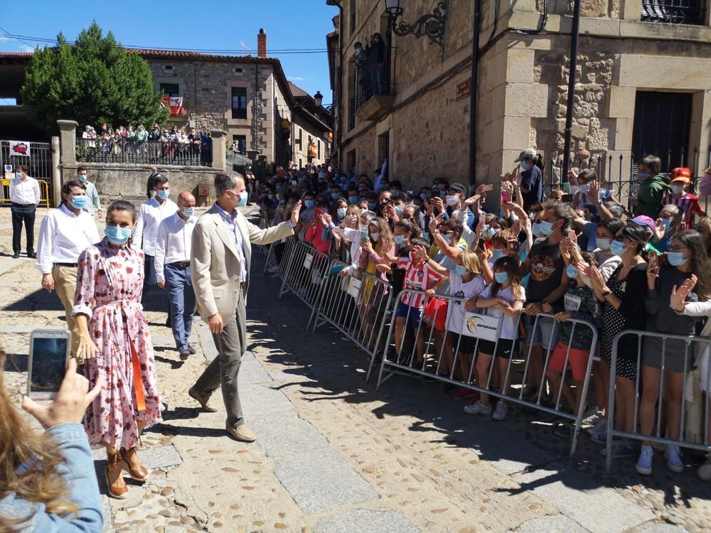 Sus Majestades ponen rumbo a la ciudad de Soria
