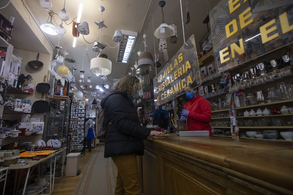 Reapertura de comercios y tiendas con cita previa, bazar José Pardo desescalada fase 0.