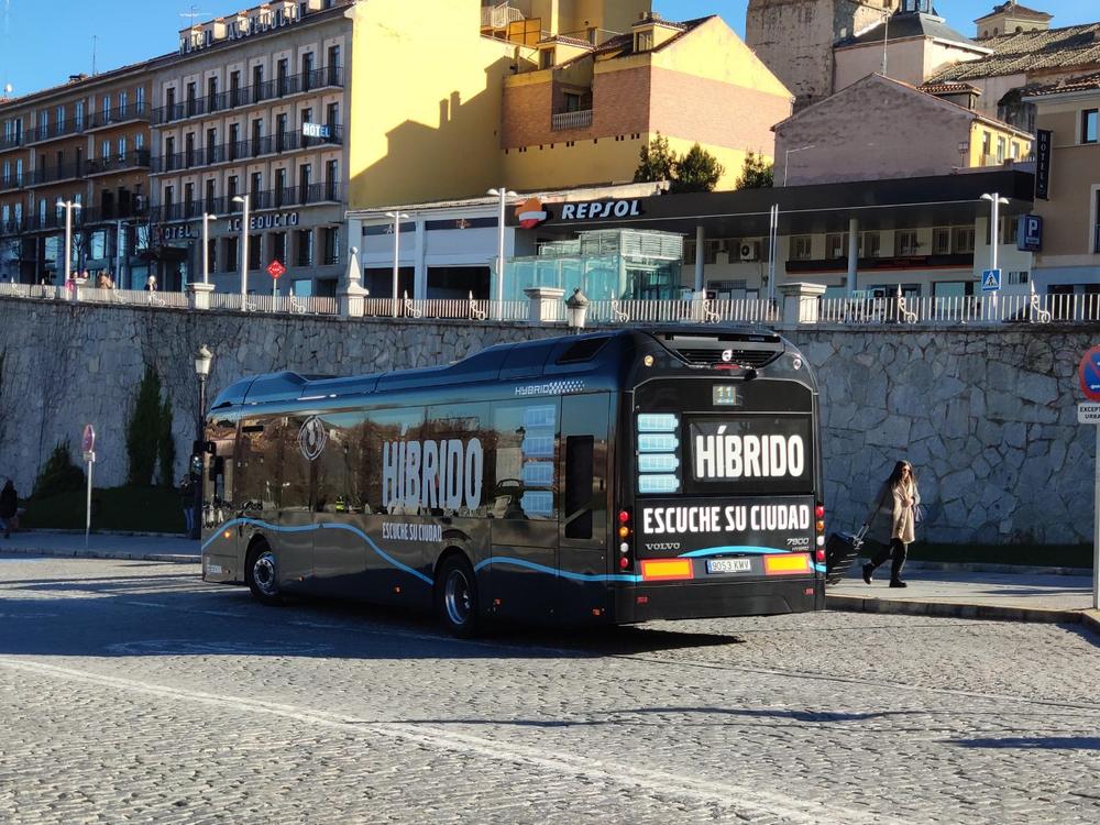Cámaras en los buses para ver ciclistas en ángulos muertos