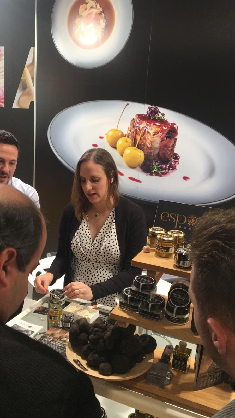 La gastronomía soriana se exhibe en Madrid Fusión