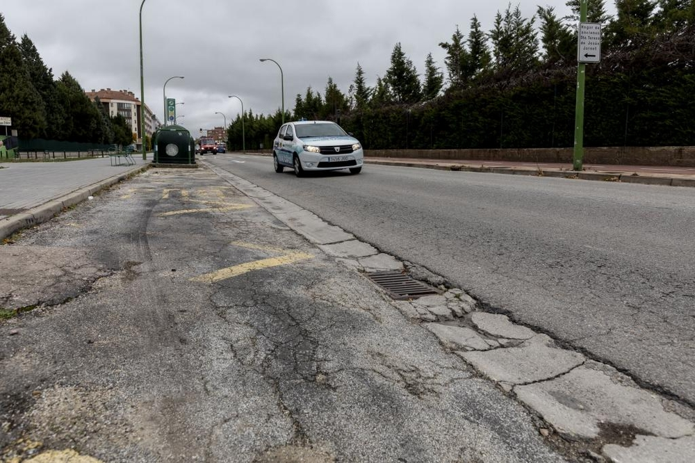 La carretera Poza es una de las vías que necesitan repararse.