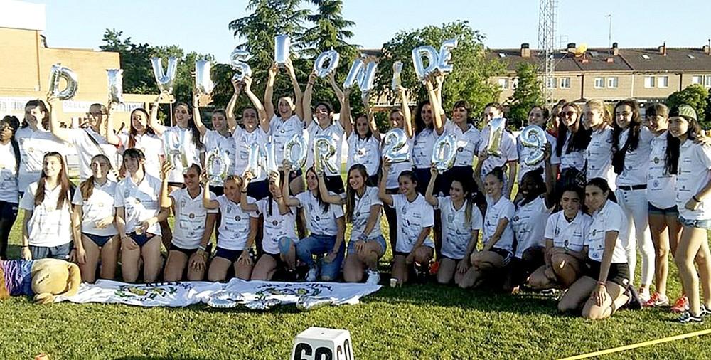 El Club Atletismo Valladolid ascendió el año pasado a División de Honor.