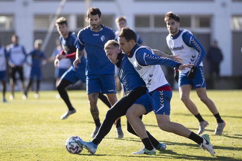 Brandon y Unai García apuntan al once titular en El Mazo