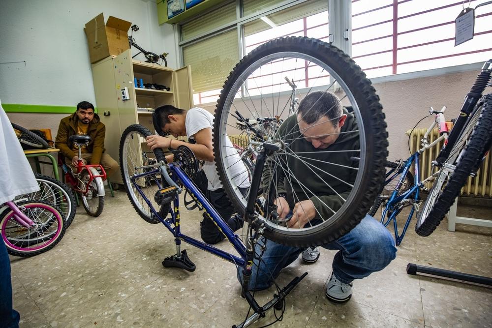 Dos mundos sobre ruedas