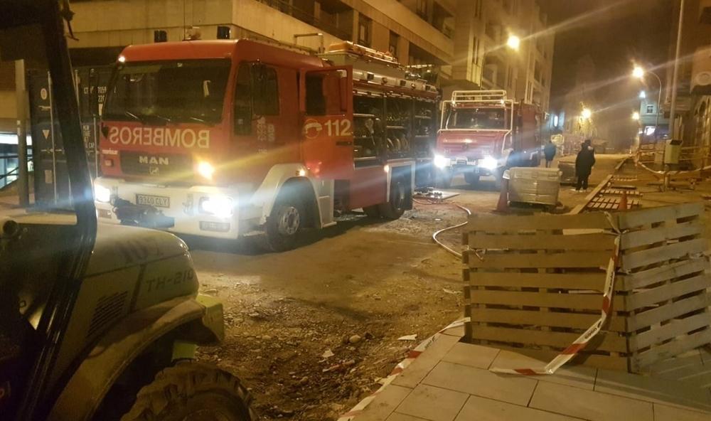 Una gran explosión causa graves daños en un bingo en Tudela