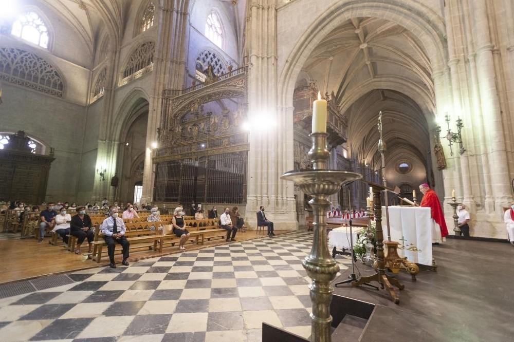 Misa por los fallecidos en Palencia