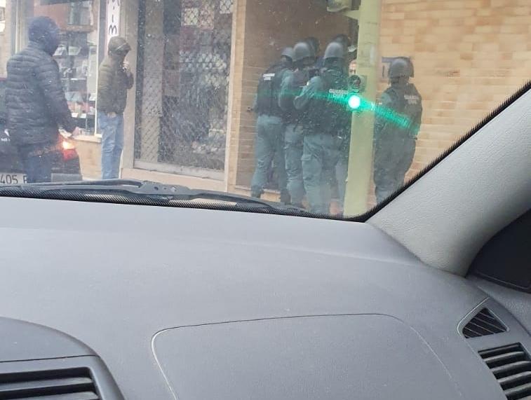 Operación policial contra robos en el patrimonio