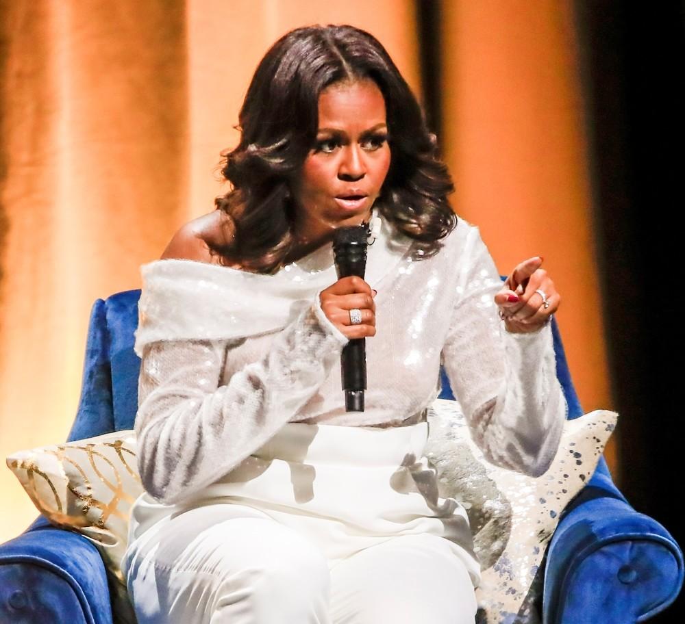 Michelle Obama sufre una