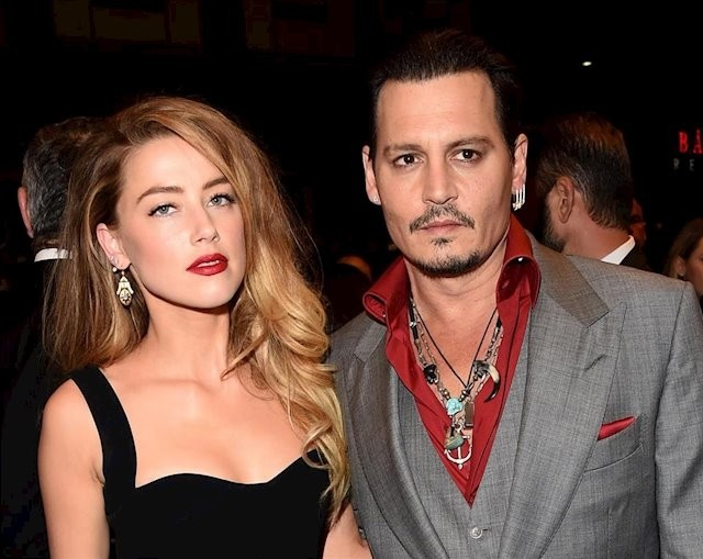 Filtran audio que revelaría agresiones de Amber Heard contra Johnny Depp