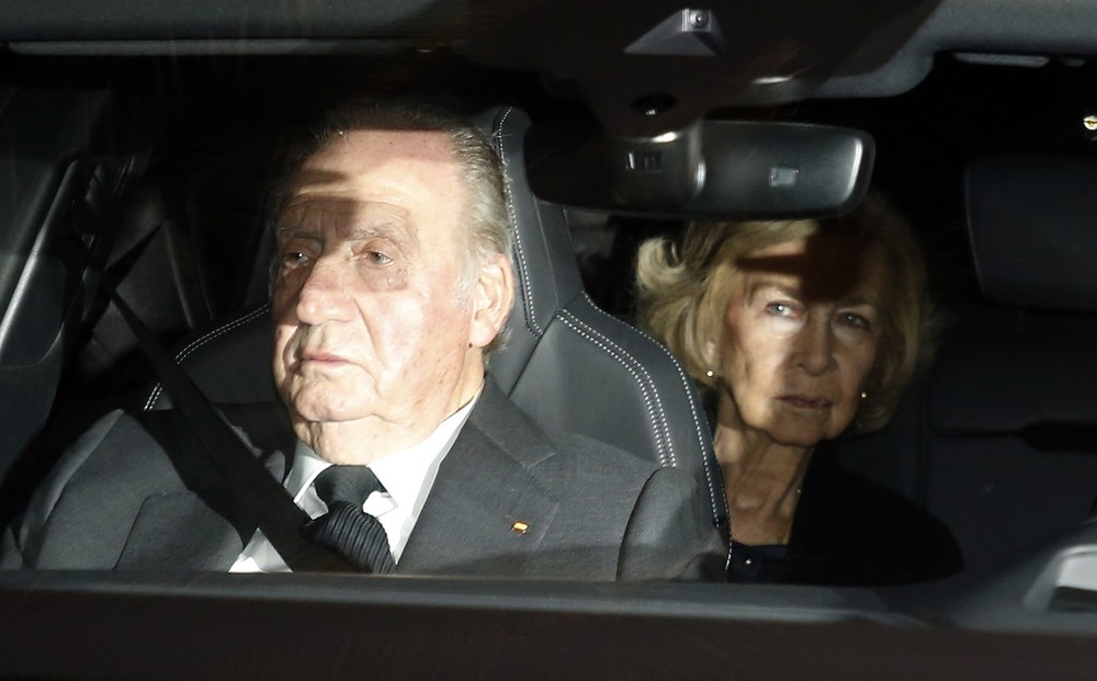 los Reyes eméritos, Juan Carlos y Sofía