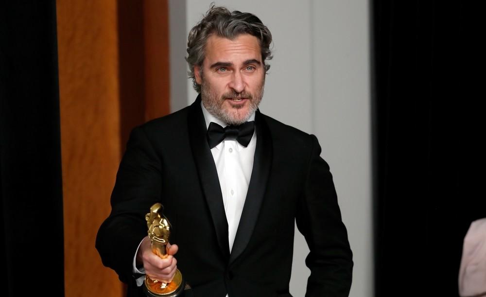 Joaquin Phoenix rescató a una vaca tras ganar el Óscar