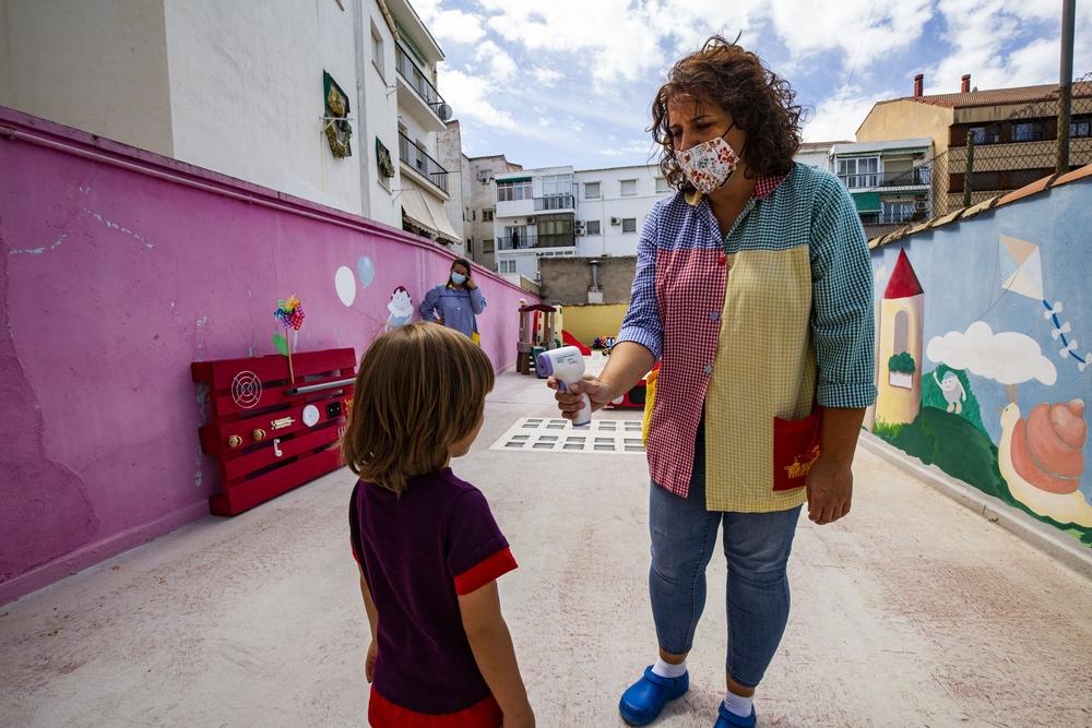 coronavirus, pandemia, inicio del curso en las guarderias, guarderia Patuco, niños en la guarderÁa durante la pandemia o el coronavirus