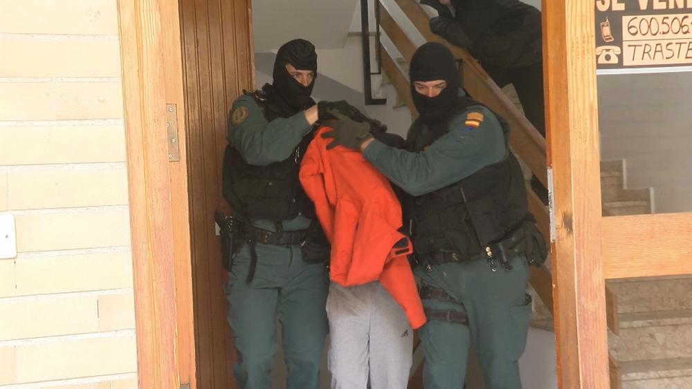 Un detenido relacionado con los robos en la provincia