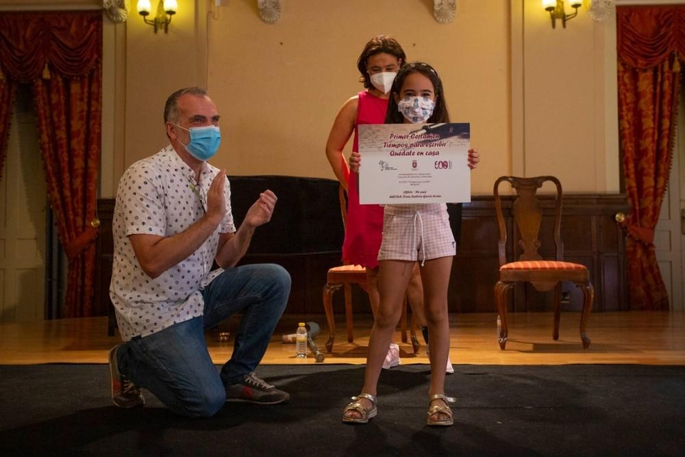 Entregados los premios al certamen 'Tiempos para escribir