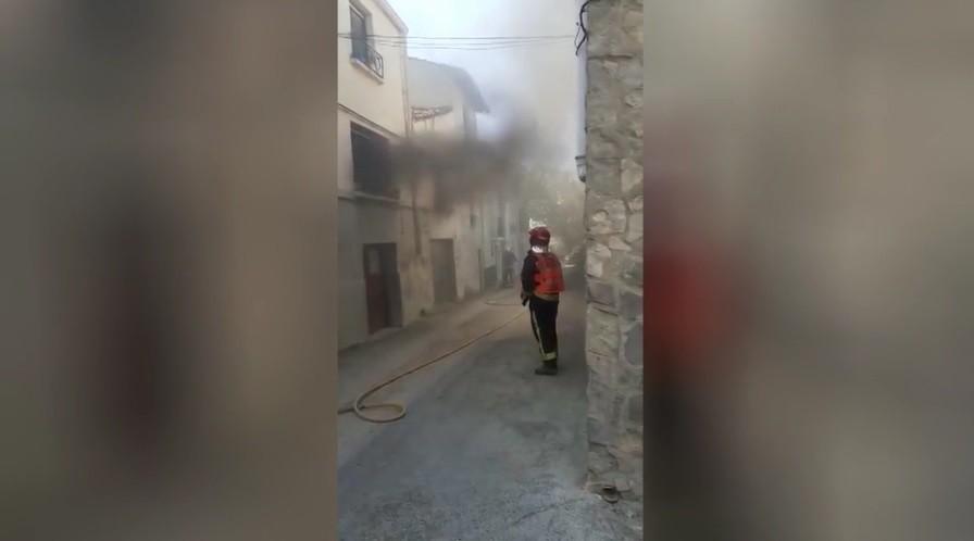 Incendio sin heridos en una vivienda de Lerín