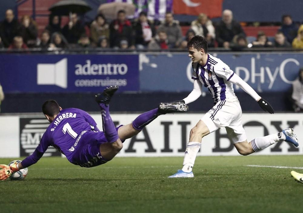 Osasuna y Valladolid firman las tablas en un partido soso
