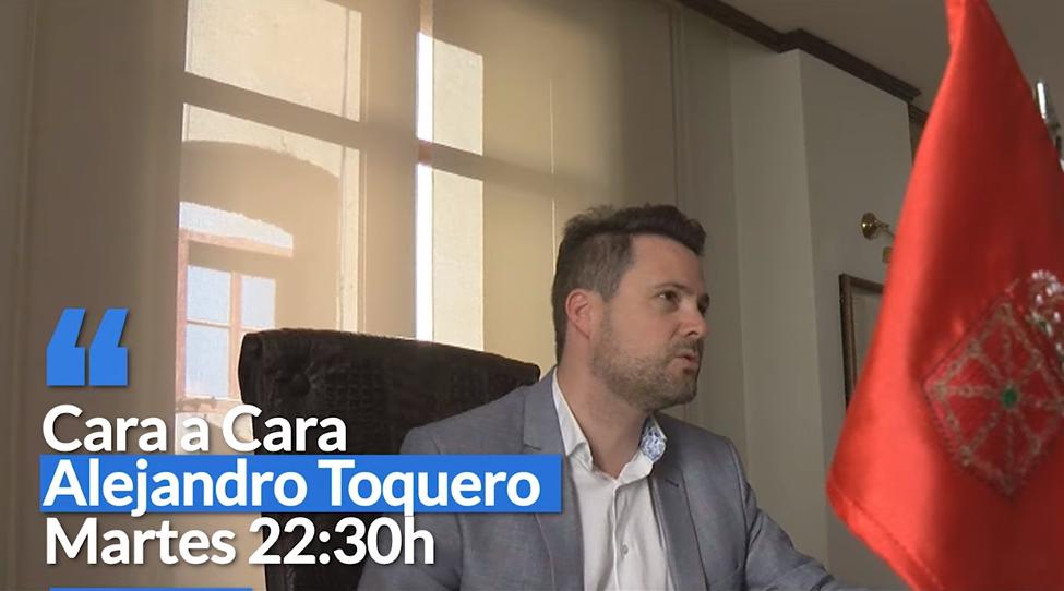 El alcalde de Tudela, Alejandro Toquero, en 'Cara a Cara'