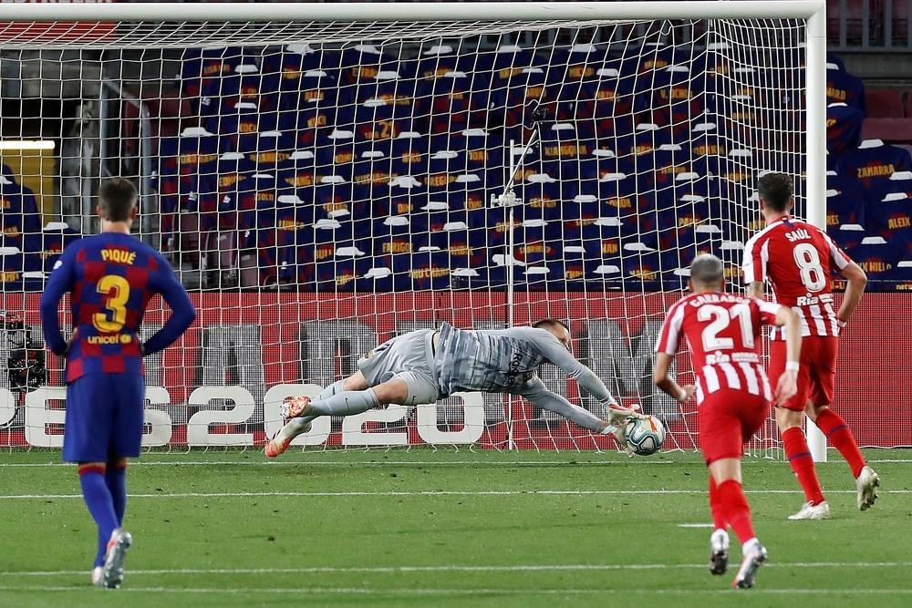 Barça y Atlético se reparten los puntos