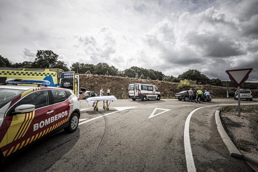 #VIDEO Accidente en el cruce de Almajano