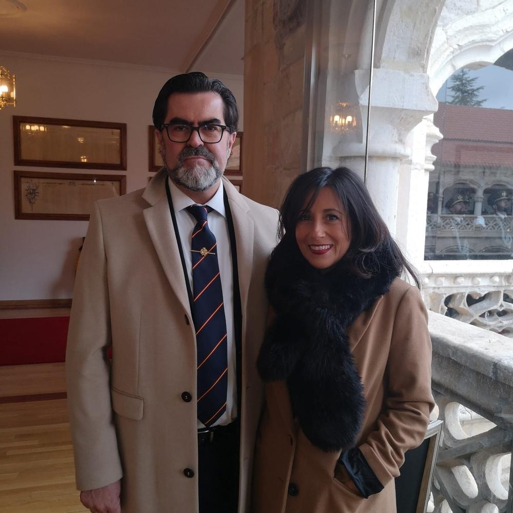 Alberto y su esposa Teresa.
