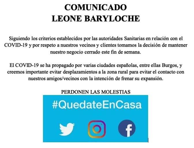 Coronavirus Hosteleros de Pinares se suman al #QuédateEnCasa