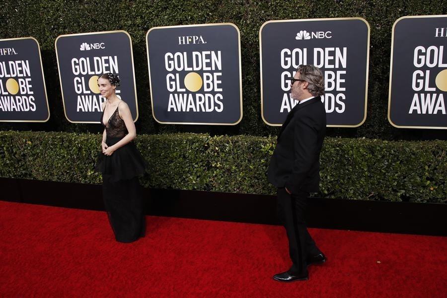 Joaquín Phoenix y Rooney Mara, padres de un niño, River