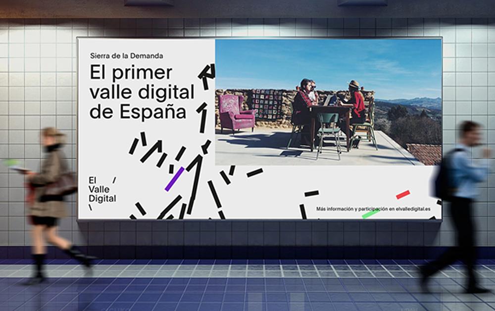 El prestigioso diseñador Ritxi Ostáriz ha creado la primera identidad de marca para el Proyecto del Valle Digital Sierra de la Demanda, el primero de España.